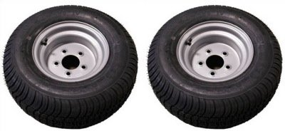 20.5 X 8-10 (205/65-10) Triton 07355 Class E Snowmobile/ATV/Pontoon Trailer Tires - Pair by Triton