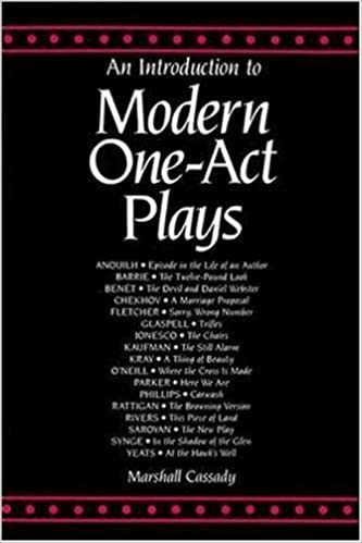 Book An Introduction to Modern One Act Plays (Theatre) by Mcgraw-Hill (1991-01-01)