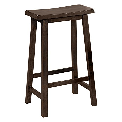 41W48AVnRoL - Monarch-Specialties-Saddle-Seat-Bar-Stool-Walnut-2-Piece-Set