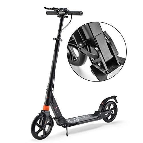 ファッションデザイナー スクーター幼児用スクーター スクーターを蹴る子どもたちスクーター、キックスクーター、折りたたみスクーター、ダブルショックスクーター(カラー:ブラック) B07R5JWXJM 子供用スクーター B07R5JWXJM, カミタカイグン:98e88d53 --- 4x4.lt