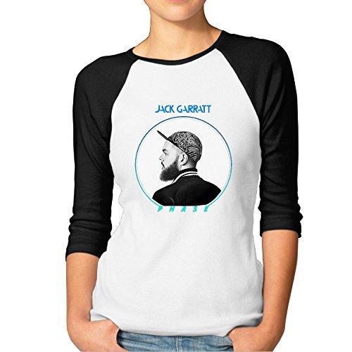 Women's Jack Garratt Phase Album Baseball Jersey T Shirt (Jersey Bmw Cotton)