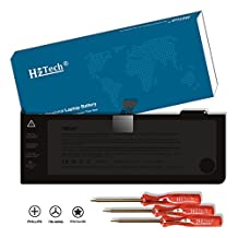 HzTech 77Wh Replacement Laptop Battery for MacBook Pro 15 inch A1286 (Mid 2009 2010 Version) Apple A1321 020-6380-A 020-6766-B 661-5211 661-5476 Laptop Battery - 10.95V/7000mAh