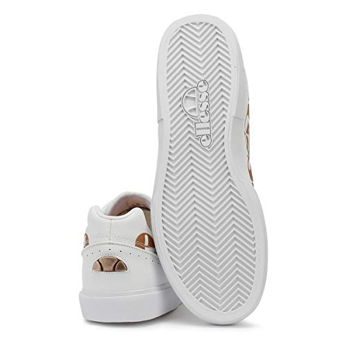 Bianco bianco Donna Ostuni Ellesse Bianco Sneaker qYwZn4