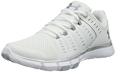 Under Armour Women's Micro G Limitless 2 Training Shoes, White/White, 8.5 B(M) US