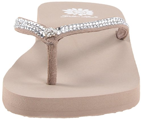 Rich Flip Women's Jello Flop Yellow Taupe Box AqXHwnB