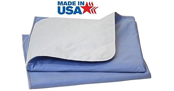 Amazon.com: 100% algodón Incontinencia lavable cama pad/XXL ...