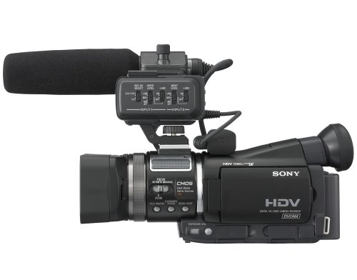 sony professional hvr a1u cmos high definition camcorder with 10x rh amazon ca Sony Handycam Camcorder Sony HDR HC1