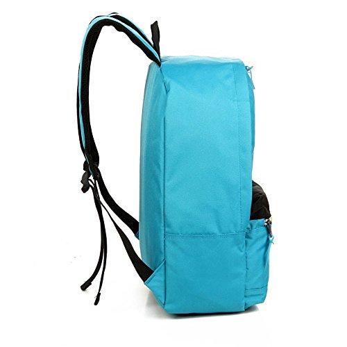 CLCOOL Bergsteigen-TascheOutdoor Tasche Freizeit Klettern Rucksack Travel Rucksack Unisex Modeschule Daypack, rot