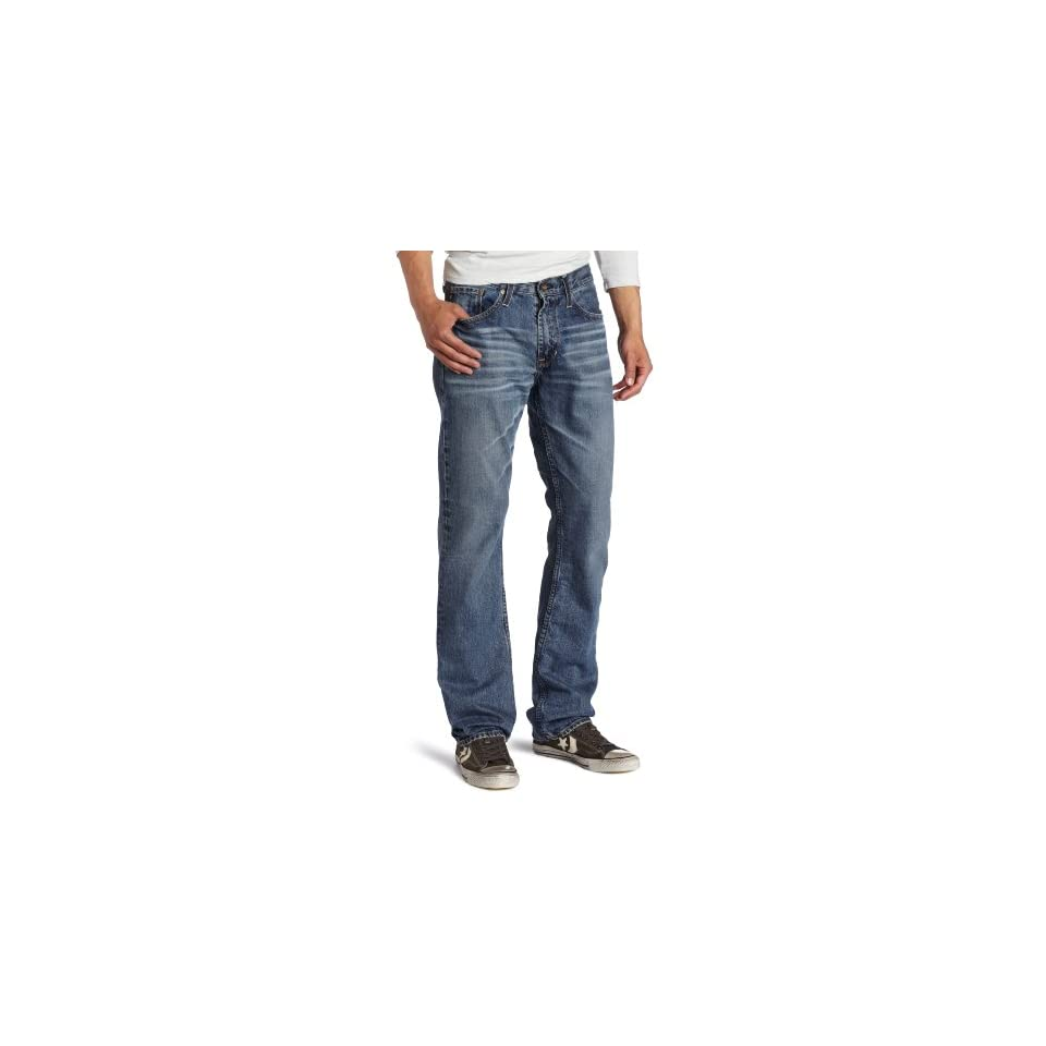 Big Star Mens Division Slim Straight Leg Jean in 17 Year Ascent