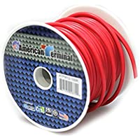 American Terminal ATPW12-100R 12 gauge primary wire, Red