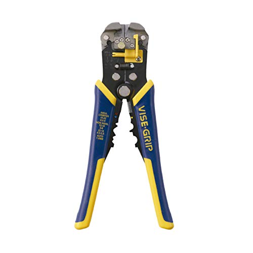 "IRWIN VISE-GRIP 2078300 Self-Adjusting Wire Stripper, 8"" from Irwin Tools"