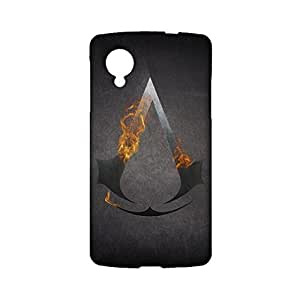 Google Nexus 5 Cell Cover Case,Customized Elegant Action Games Logo Printed Shell Phone Case 3D Protective Case