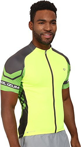 Pearl-Izumi-Ride-Mens-Elite-Jersey-Screaming-YellowGreen-Flash-Medium