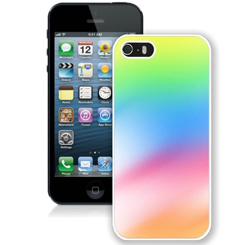 Coque,Fashion Coque iphone 5S Colorful Ios 8 Stock blanc Screen Cover Case Cover Fashion and Hot Sale Design