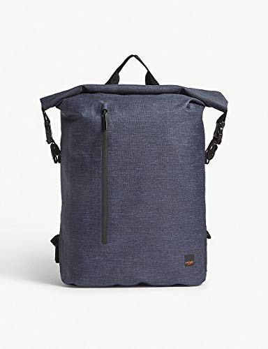 Knomo Cromwell Roll-Top Laptop Backpack - 14 (Blue)