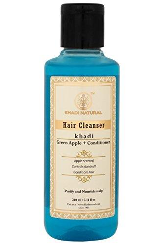 (KHADI - Herbal Shampoo Green Apple+Conditioner -)