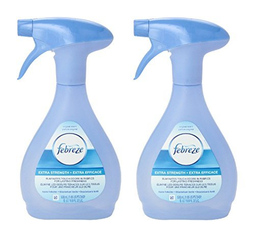 Febreze Extra Strength Fabric Refresher, 16.9-Ounce (Pack of 2)