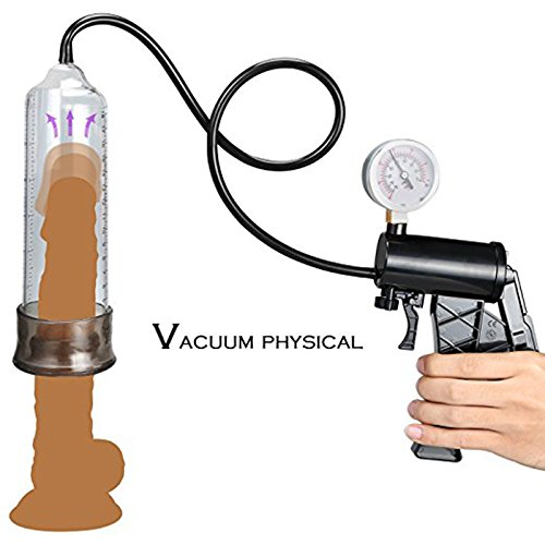 NewMaxer Manual Operation Vacuum Enhancer Pump with Instrument Paneg For Men