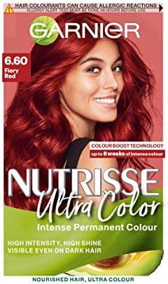 Garnier Nutrisse 6.6 - Tinte para el cabello permanente ...