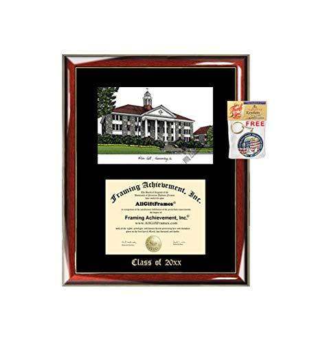 James Madison University JMU Graduation Custom Frame Emboss Lithograph Diploma Degree Framing Embossed Bachelor MBA Master PHD Certificate Framing
