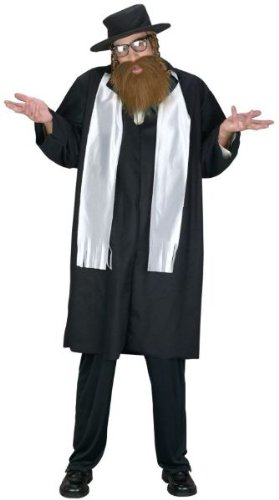 Rabbi Adult Costume - -