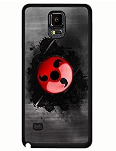 Naruto Logo Anime Collection Printed Samsung Galaxy Note 4 Scratch-proof Case Cover for Girls