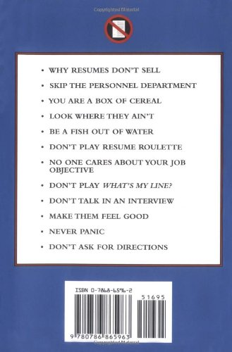 don t send a resume and other contrarian rules to help land a great