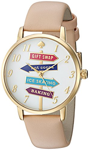 kate spade new york Women's Metro Brown Watch KSW1215