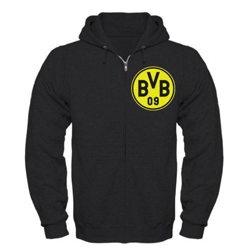 CafePress - Borussia Dortmund Zip Hoodie (dark) - Zip Hoodie, Classic Hooded Sweatshirt with Metal Zipper