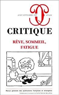 Critique, numéro 603-604 par Revue Critique