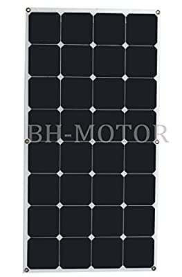Flexible Marine Boat SUNPOWER Solar Panel 12v 100 80 50 watt bulk 100W module