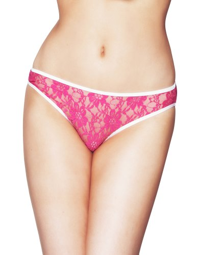 Mio Sexy Viva Pink Lace Panties PM69 X-Small