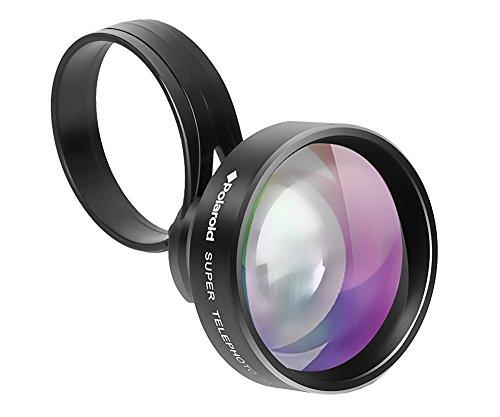 Polaroid 5X Teleobjektiv für iPhone 7/6/6S/PLus/5/5S und Galaxy S5/S6/S7/Edge und andere Smartphones und Tablets