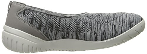 Knit Heather Ballet Women's Flat Rockport Raelyn Dark Grey Eqpcw4