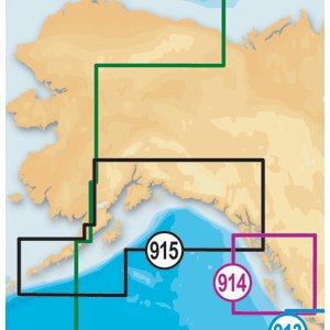 Navionics GPS Service Platinum+ CF 915 South Alaska Nauti...