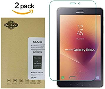 2-Pack Tempered Glass Screen Protector For Samsung Galaxy Tab A 8.0 T380 T385