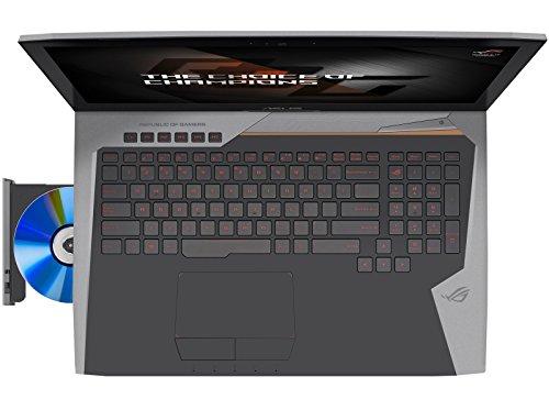 ASUS ROG G752VS-XB72K OC Edition (i7-6820HK, 64GB RAM, 256GB NVMe SSD + 1TB HDD, NVIDIA GTX 1070 ...