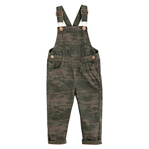 OFFCORSS 3T Toddler Denim Camo Overalls for Boys Baby Clothes Overoles para - Sleeve Bib Long T-shirt