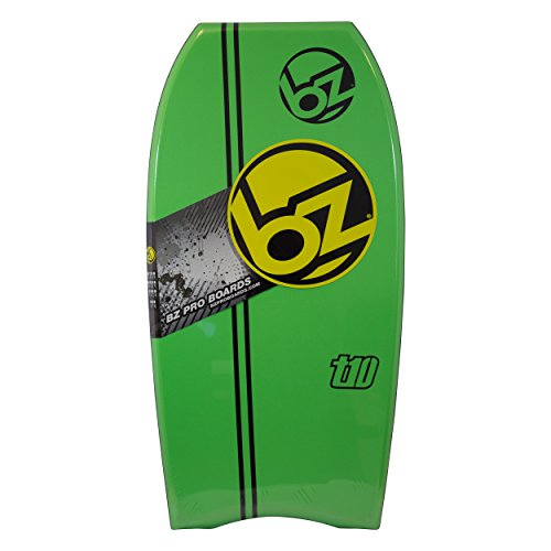 BZ T-10 42 Bodyboard with Stripe (Green)