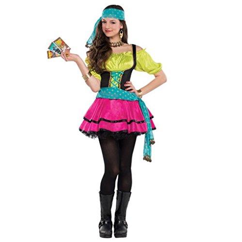 Teen Girls Mystical Gypsy Costume Size Medium 7-9
