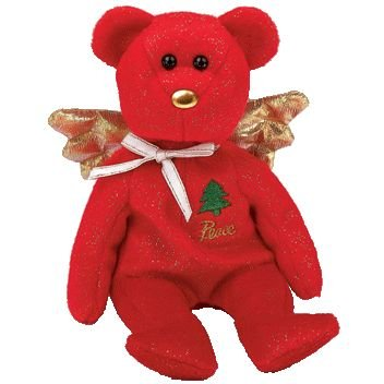 Amazon.com  Ty Beanie Baby - Gift the Bear (Red Version) (Hallmark ... a976038b333