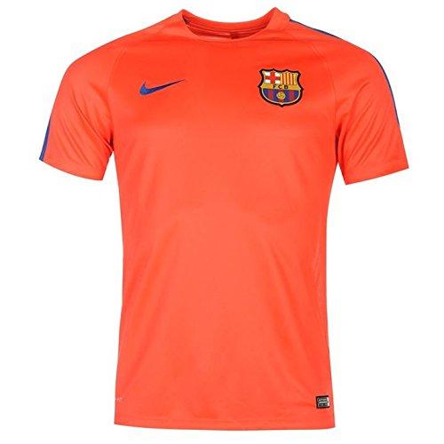 Nike Mens FC Barcelona Pre-Match Jersey-BRIGHT CRIMSON (L)