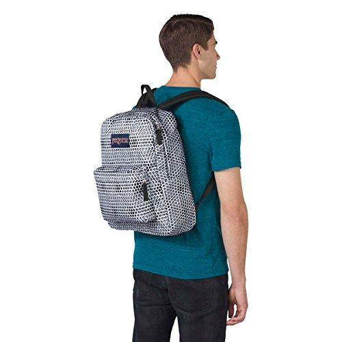 White JanSport Urban Superbreak Backpack Optical fxqwAp8Z