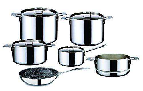 Mepra 30170010 10 Piece Energia Kitchen Set, Stainless Steel