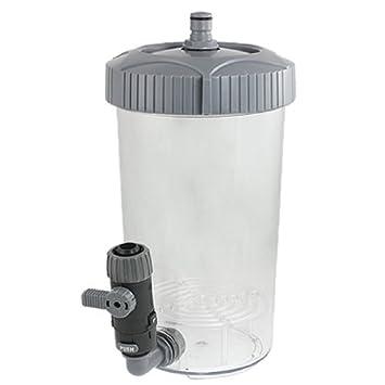 DealMux peces de acuario tanque de 90 grados de entrada de agua Kit de filtro externo, 2,3 l: Amazon.es: Productos para mascotas