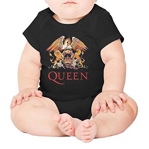 Logo Music Band - LiJinya Rock_Music_Queen_Rock_Band_Logo Short Sleeve Baby Onesies Newborn Clothes