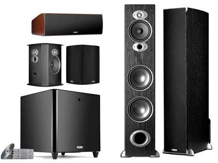 Best savings for Polk Audio RTiA7 Home Theater System Black Color.