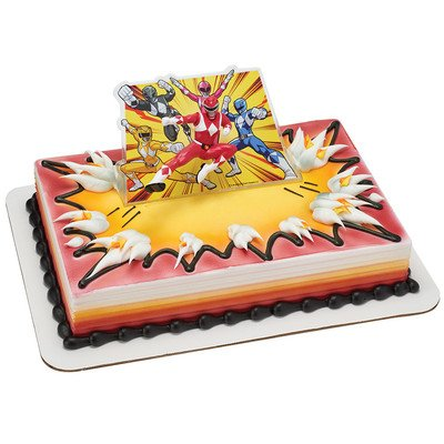 Power Rangers It's Morphin Time Cake Decorating (Power Rangers Birthday Cake)