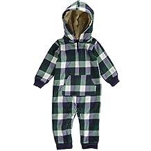 Carter's Hooded Fleece Jumpsuit - 12 Months