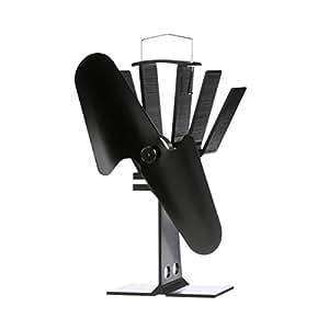 Amazon.com: Caframo Ecofan Original Blade calor Powered ...